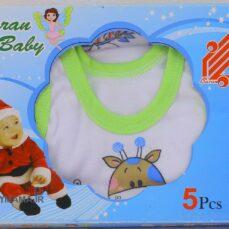 ست ۵ تیکه نوزادی باران مدل زرافه