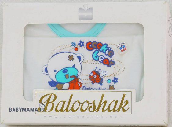 ست ۵ تیکه نوزادی بلوشک مدل cookie bear (1)