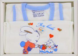 ست 5 تیکه نوزادی چیکو مهتاب مدل خرگوش