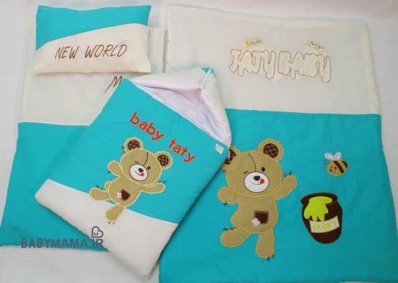 سرویس خواب تترون ۴ تیکه baby taty مدل honey