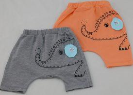 شلوارک نوزادی ردپا مدل فیل و گربه