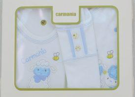 ست 5 تیکه پنبه نوزادی کارمانیا مدل زنبور و بره