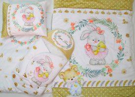 سرویس خواب مخمل roya love ۴ تیکه خرگوش