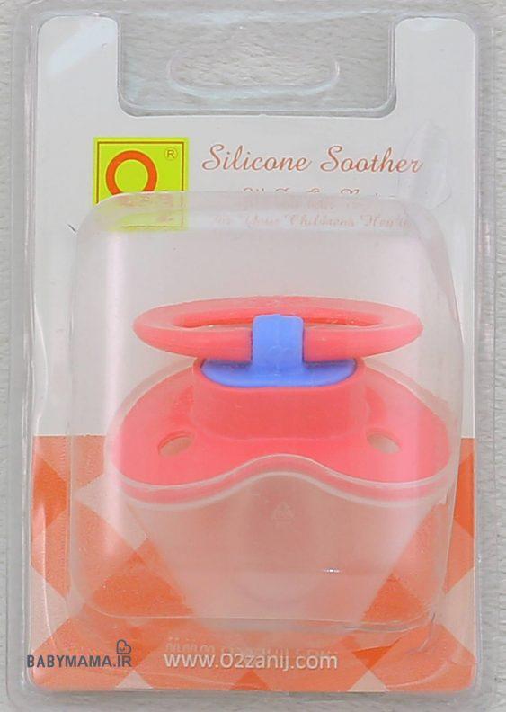 پستانک سیلیکونی نوک گردO2