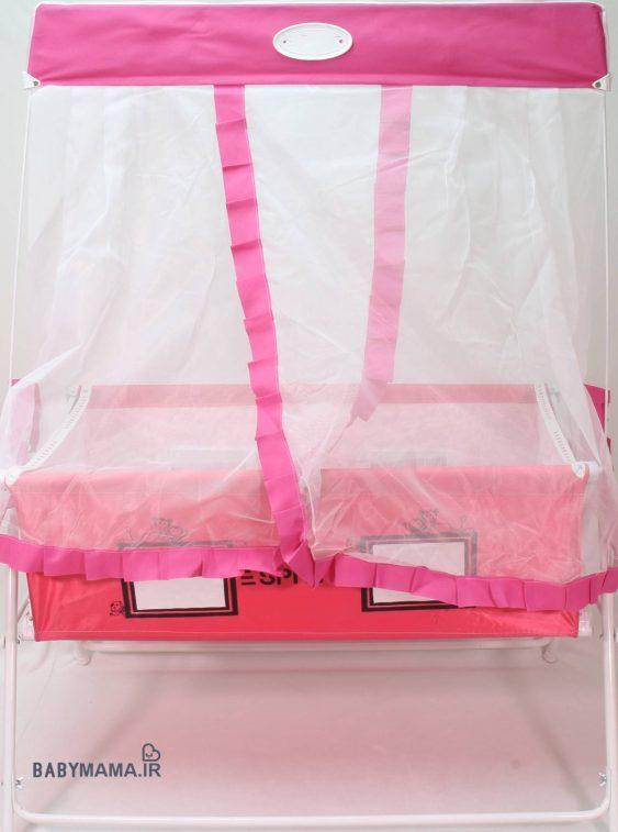 تخت و گهواره نوزاد اسپرینگ مدل 305