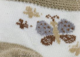 جوراب پنبه Polo مدل پروانه