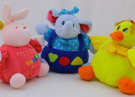 عروسک نخ کش مدل حیوانات Funny Toys