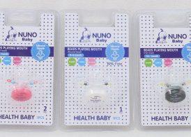 پستانک طرح دار وکیومی NUNO Baby
