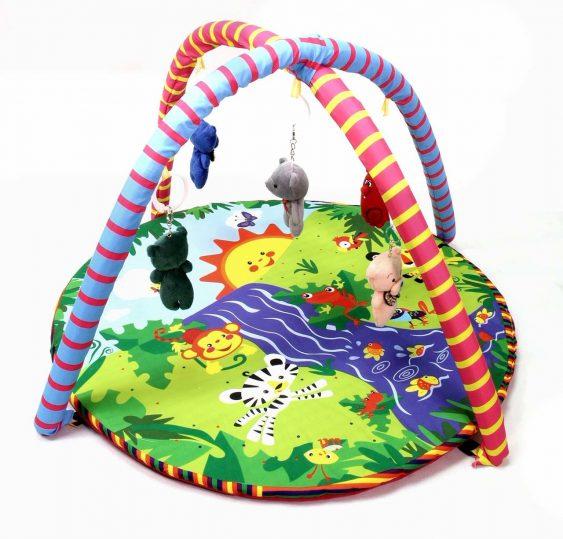 تشک بازی Baba Kingdom مدل حیوانات