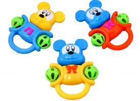 جغجغه نوزاد Happy Toys مدل میکی