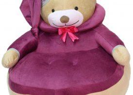 کاناپه مخملRoya Baby مدل خرس