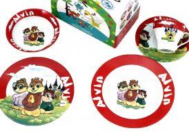 سرویس چینی 5 پارچه گرد مقصود مدل Alvin