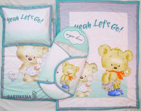 سرویس خواب مخمل دو خرس