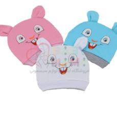 کلاه گوش دار em baby مدل خرگوش خندان