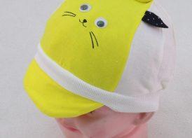 کلاه نقاب دار نوزادی مدل گربه
