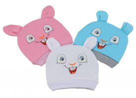 کلاه گرد em baby مدل خرگوش