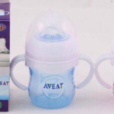 شیرخوری دهانه عریض دسته دار AVEAT
