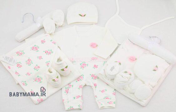 ست 5 تیکه بیمارستانی Avina Baby