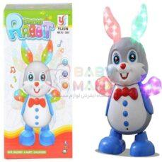 عروسک خرگوش YIJUN موزیکال چراغدار