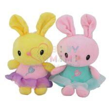 عروسک آویز خرگوش لباس توری