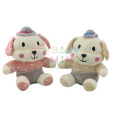 عروسک سگ کلاه دار نانو Doplo