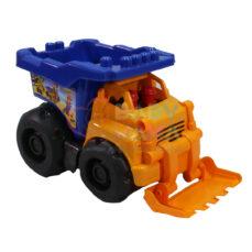 اسباب بازی کامیون با بیل مکانیکی