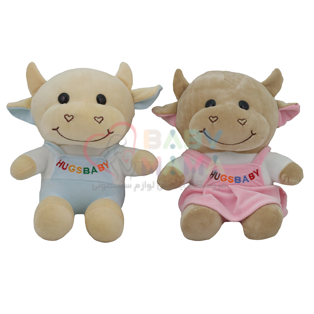 عروسک گاو نشسته خندان