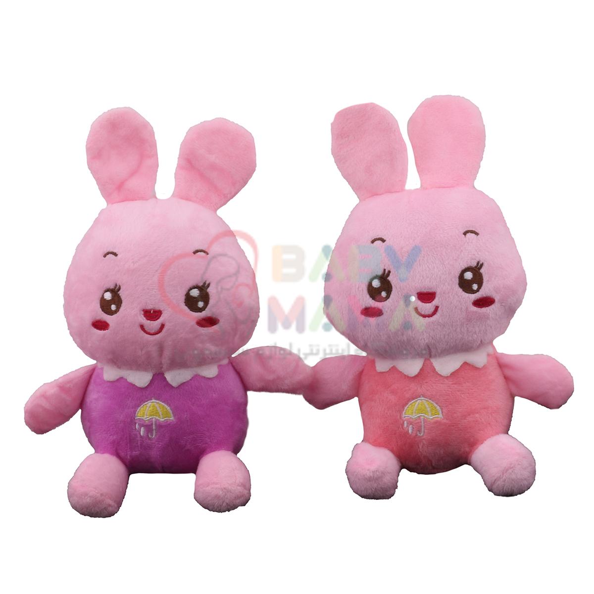عروسک خرگوش نانو رنگی
