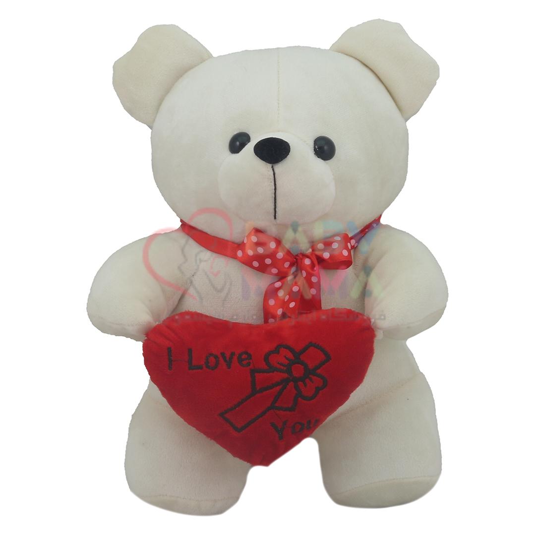 عروسک خرس و قلب Love
