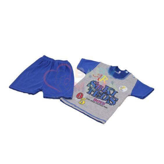 تی شرت و شلوارک amir مدل دورنگ