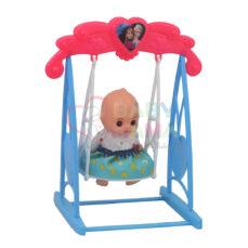 اسباب بازی عروسک تاب سوار