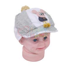 کلاه کاسه ای راه راه مدل موش