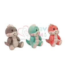 عروسک دایناسور رنگی