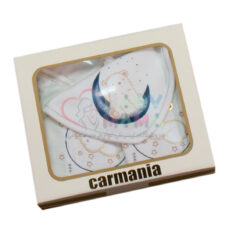 ست 5 تیکه carmania گلدوزی ماه