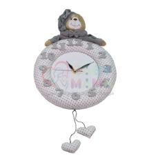 ساعت دیواری اتاق کودک مدل عروسکی