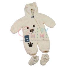 کاپشن سرهمی بره ای tito baby مدل خرس