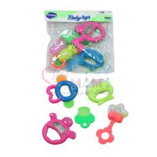 جغجغه 5 عددی baby toys