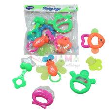 جغجغه 6 عددی baby toys