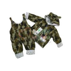 کاپشن پیش بندی BAROOK مدل ارتشی یک کاپشن سر همی نوزادی با کیفیت که برای کودکان ارائه شده است. این محصول در 2 سایز تولید شده است. سایز یک کاپشن سرهمی مدل ارتشی برای کودکان 6 تا 9 ما
